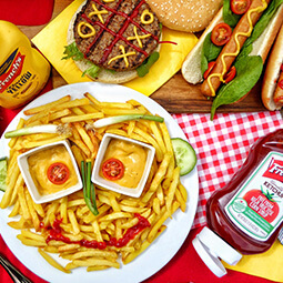 fries kids meal hamburger funny smile ketchup French's hot-god UGC content